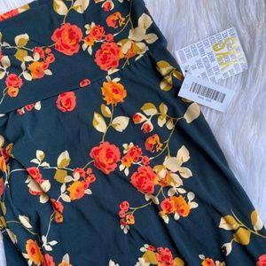 Lularoe Maxi Skirt Unicorn Floral NWT UID5913